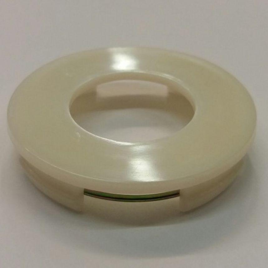 Keskimerkin pohja 59mm/Valkoinen/Suora