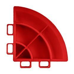 Lattialaatan kulmapala, fire red 4 kpl