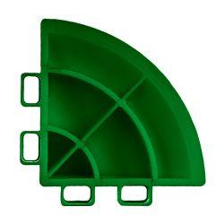 Lattialaatan kulmapala, leaf green 4 kpl