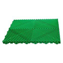 Lattialaatta, leaf green 40x40cm 10x30 kpl